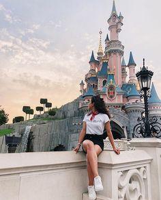 ☾↠// мoonғacтѕ love Disney - Fashion and Style - Vacation Disneyland Photography, Disneyland Photos, Disneyland Paris, Cute Disney Pictures, Disney World Pictures, Paris Pictures, Paris Photos, Disney Poses, Disney Ideas