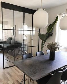 Entrance Hall Decor, Space Interiors, Interior Decorating, Interior Design, Dinning Table, Küchen Design, Dream Rooms, Dining Room Design, Home Bedroom
