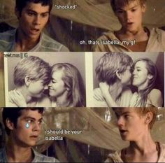 OMG that's what I felt like when I saw that picture of Thomas. So did literally every other girl in the The Maze Runner fandom.