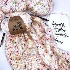sprinkle sweater designed by krysten ritter! Wooden Knitting Needles, Knitting Kits, Knitting Yarn, Knitting Projects, Knitting Patterns, Crochet Socks, Knit Crochet, Krysten Ritter, Yarn Inspiration