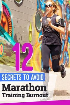 12 ways to prevent marathon training burnout and stay on track with your training #marathonrunning