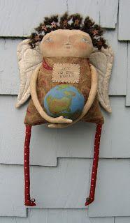 Tricky Stitches Primitives - All sorts of Art Dolls: http://pinterest.com/sufdz/alebrijes-y-papel-mache-3-inspiracion