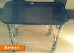Before & After: Anam's Herringbone Trolley Makeover