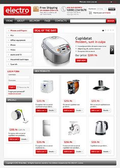 Virtuemart Template 45040