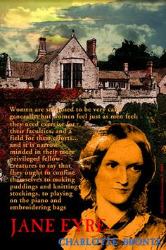 On this day 21st April, 1816 Charlotte Bronte, eldest of the three literary sisters, was born. Her publisher rejected her first novel 'The Professor' but she went on to write her masterpiece 'Jane Eyre'. .