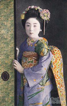 Geisha, Japan, 1930s