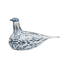iittala Toikka Mistle Thrush 2013 Annual Bird From their siren song to their speckled plumage, the thrush species of birds are considered to be among the most beautiful in the avian world. This year renowned glass artesian Oiva Toikka has chosen t. Mistle Thrush, Glass Birds, Sculpture, Hanging Tapestry, Bird Species, Gray Background, Joss And Main, Hand Blown Glass, Decorative Objects