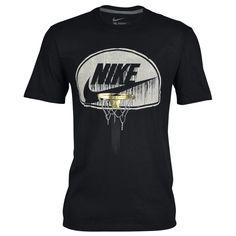 Nike Graphic T-Shirt - Men's at Foot Locker Nike Mens Shirts, Nike Clothes Mens, Nike Shirt, Casual School Outfits, Casual T Shirts, Shirt Print Design, Shirt Designs, Lacoste T Shirt, T Shirt Printer