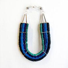 La Reunion by Rebecca Lavoritano, Filbert necklace