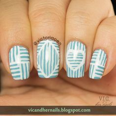Vic and Her Nails: GOT Challenge - Stripes