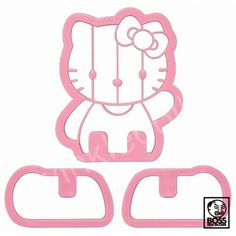Hello Kitty Cookie Cutter - PRICE NOW: $8