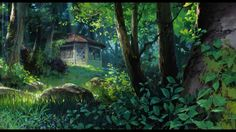 Studio Ghibli is one of the most acclaimed animation studios in the world, and the home of some of the most revered and beloved animated works to have ever existed Be sure to check out our store for premium anime merchandise. Secret World Of Arrietty, The Secret World, Secret Life, Studio Ghibli Background, Animation Background, Environment Concept Art, Environment Design, Hayao Miyazaki, Totoro