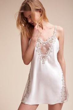 Shop our vintage-inspired bridal lingerie collection. BHLDN offers a variety of wedding lingerie perfect for your wedding night and beyond! Belle Lingerie, Pretty Lingerie, Bridal Lingerie, Beautiful Lingerie, Sexy Lingerie, Vintage Lingerie, Designer Lingerie, Luxury Designer, Wedding Night Lingerie