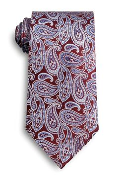 Paisley patterned ties from Wolfmark.