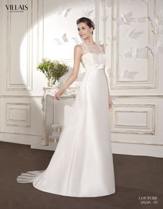 SALVA | Wedding Dress | 2015 Couture Collection | by Sara Villaverde | Villais