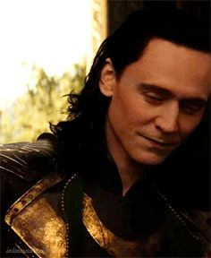 Tom Hiddleston as Loki looking pensive and other sigh-inducing stuff