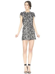 RILEY A-LINE SHORT SKIRT by Alice + Olivia