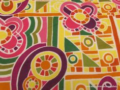 Flannel Fabric  Stained Glass Floral   1 yard  100% by SnappyBaby