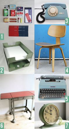 Superbe Vintage Office Supplies Http://theteacupincident.typepad.com/the Teacup