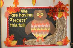 fall bulletin board ideas for preschool | Bulletin Boards | Hand-Me-Down Ideas