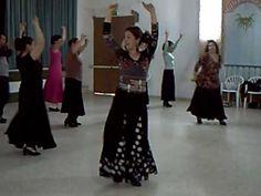 Taller Flamenco Lidia Castro. Clase tangos flamencos 2 - YouTube