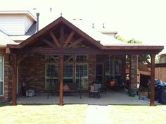 Patio Cover http://www.TexasBestFence.com #PatioCoverDesign