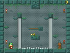 Timmy, a little thief or treasure hunter, who has arrived to a deep and dark dungeon, ready to face the dangers inside to claim the biggest treasure in the world. DD Has been made to look and play like old classic platform games. Use arrow keys to move and Z to jump. Activate Switches and pick...