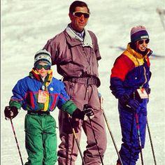 #throwbackthursday #royalfamily in Switzerland 1994 - @siasnowsports
