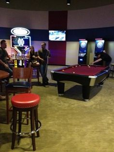 Expand on the 'games' that Horizon provides near the Terrace by incorporating Billiards and Darts in the new area