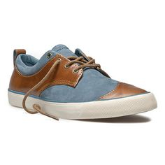 Etta Shoe Women's Blue Brown, $74.99, now featured on Fab.