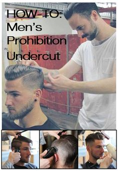 boys hair HOW-TO: Men's Prohibition Undercut by Australian BTC member Rob Mason Cut And Style, Cut And Color, Men's Style, Hair And Beard Styles, Short Hair Styles, Hair Dos, My Hair, Boy Hairstyles, Men's Grooming