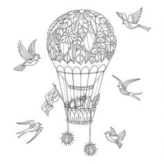 Livro Floresta Encantada - Desenhos para colorir e imprimir | Pintar Desenhos