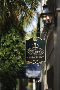 82 Queen Restaurant Sign from 82 Queen's Facebook