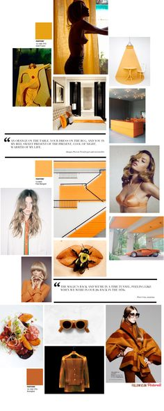 Orange Inspiration by Trendland
