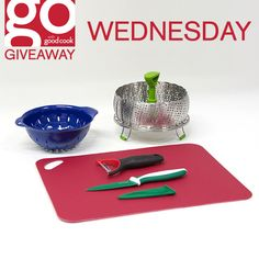FREE Vegetarian Cuisine Prize Packs from Good Cook on Wednesday, May 13th! Good Cook #AskGoodCook