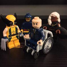 Hello. My name is Charles Xavier. #xmen #lego #marvel #charlesxavier #professorx #wolverine #cyclops #storm #legostagram #brickleague #bricknetwork #mutants by mr_nunb91