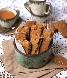 Vegan Nut and Seed Rusks. A delicious gluten free and low carb Vegan Nut and Seed Rusk recipe packed with nuts and seeds. Vegan Gluten Free, Gluten Free Recipes, Low Carb Recipes, Snacks Recipes, Oven Recipes, Vegan Snacks, Recipies, Paleo, Rusk Recipe