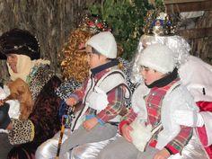 #resyesmagos recibiendo a los niños de #cue, #Llanes #Asturias.