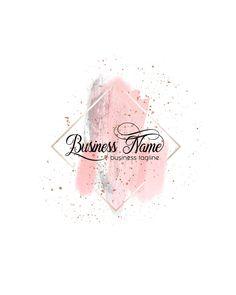 Boutique Logo, Nail Logo, Makeup Artist Logo, Event Logo, Watercolor Logo, Wedding Logos, Wedding Events, Floral Logo, Makeup For Teens