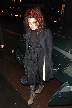 I don't care what anyone says about Helena Bonham Carter, I love her wacky style and I always will!