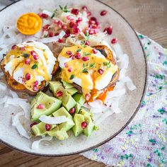 Poached eggs on sweet potato toast inspiration from @whole30