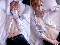 This cosplay is over 9000!! Shiro is..is..*nosebleed* Manga: 10 Count