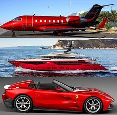 PJ Yacht or Supercar? Jets Privés De Luxe, Luxury Jets, Luxury Private Jets, Private Plane, Ferrari F12, Carros Lamborghini, Maserati, Jet Privé, Porsche Macan