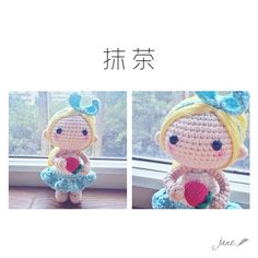 Pattern by @aihetangguo  #amigurumi #craft #crochetdoll #crochet
