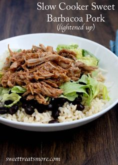 ... Crock pot pork on Pinterest | Slow Cooker Pork, Pork and Pulled Pork