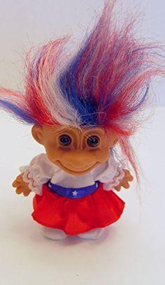 Lucky Russ Red White Blue Haired Patriotic Troll Doll Gir... http://www.amazon.com/dp/B019ZYF9H0/ref=cm_sw_r_pi_dp_B5sixb1DCS0CN