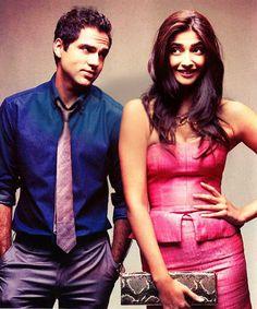 Abhay Deol  and Sonam Kapoor in Aisha