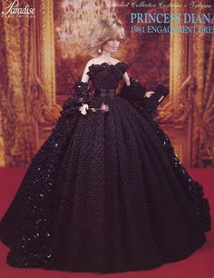 . Compromiso vestido Paradise 48 Nueva Barbie Doll modelo del ganchillo | eBay