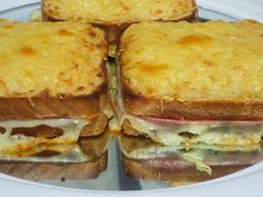 sandwich, Croque-monsieur con thermomix,