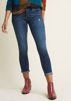 Approachable Inspiration Skinny Jeans in 1X - Skinny Denim Pant